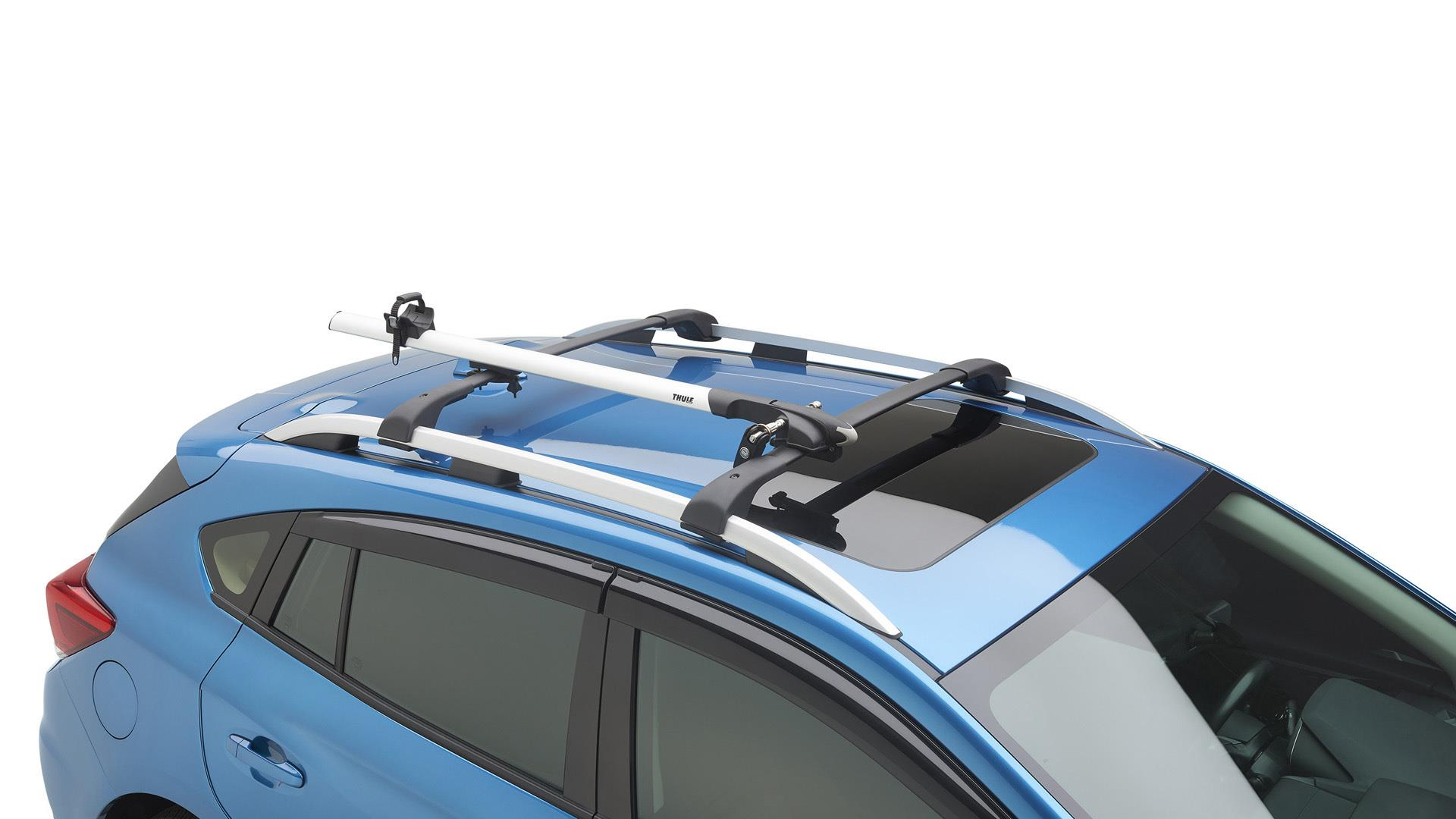 Subaru Impreza Fork Mount Bike Carrier Thule Wheel