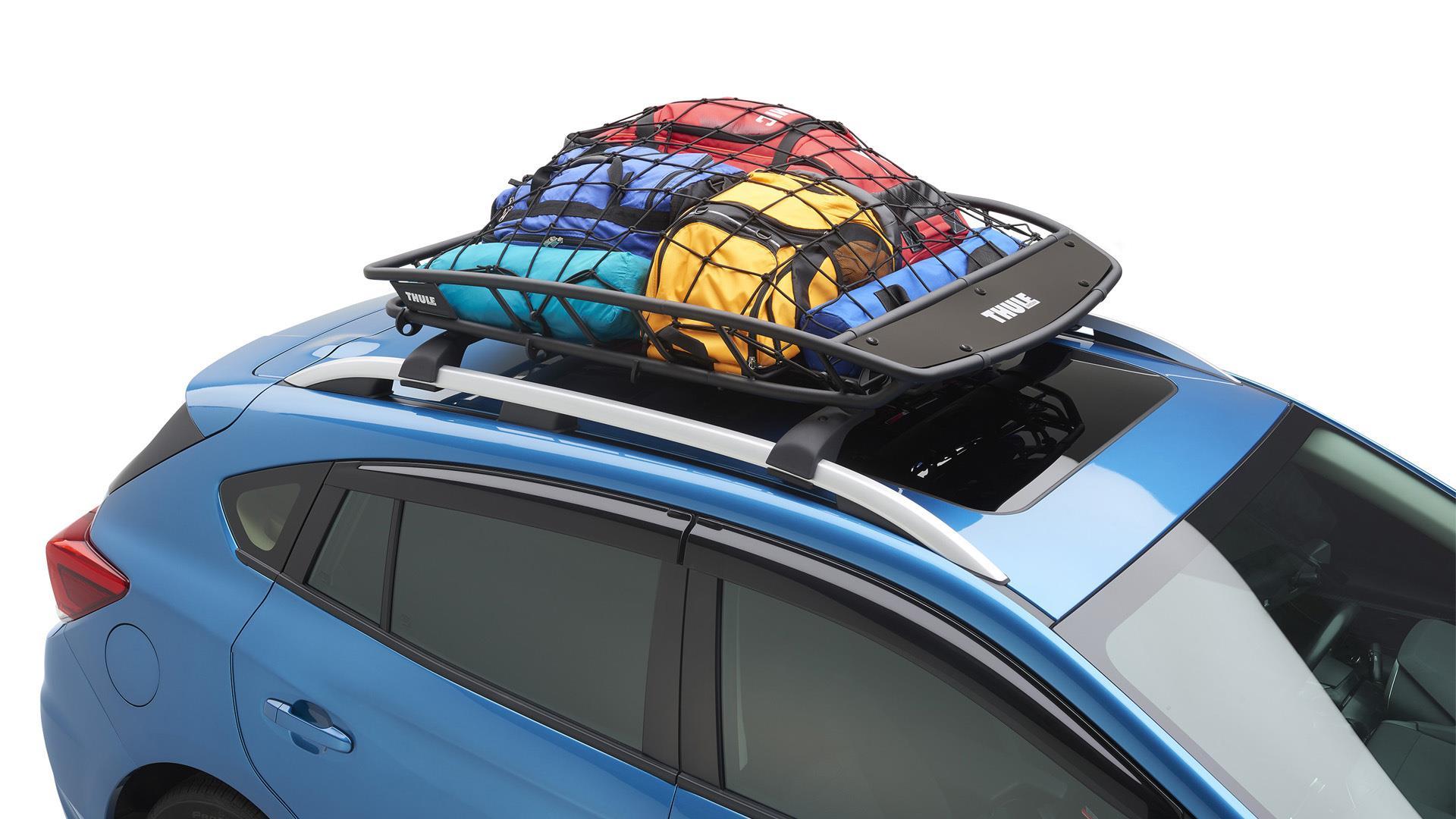 2016 Subaru Forester Thule Heavy Duty Cargo Basket Easy